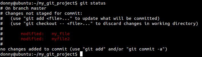 Git status
