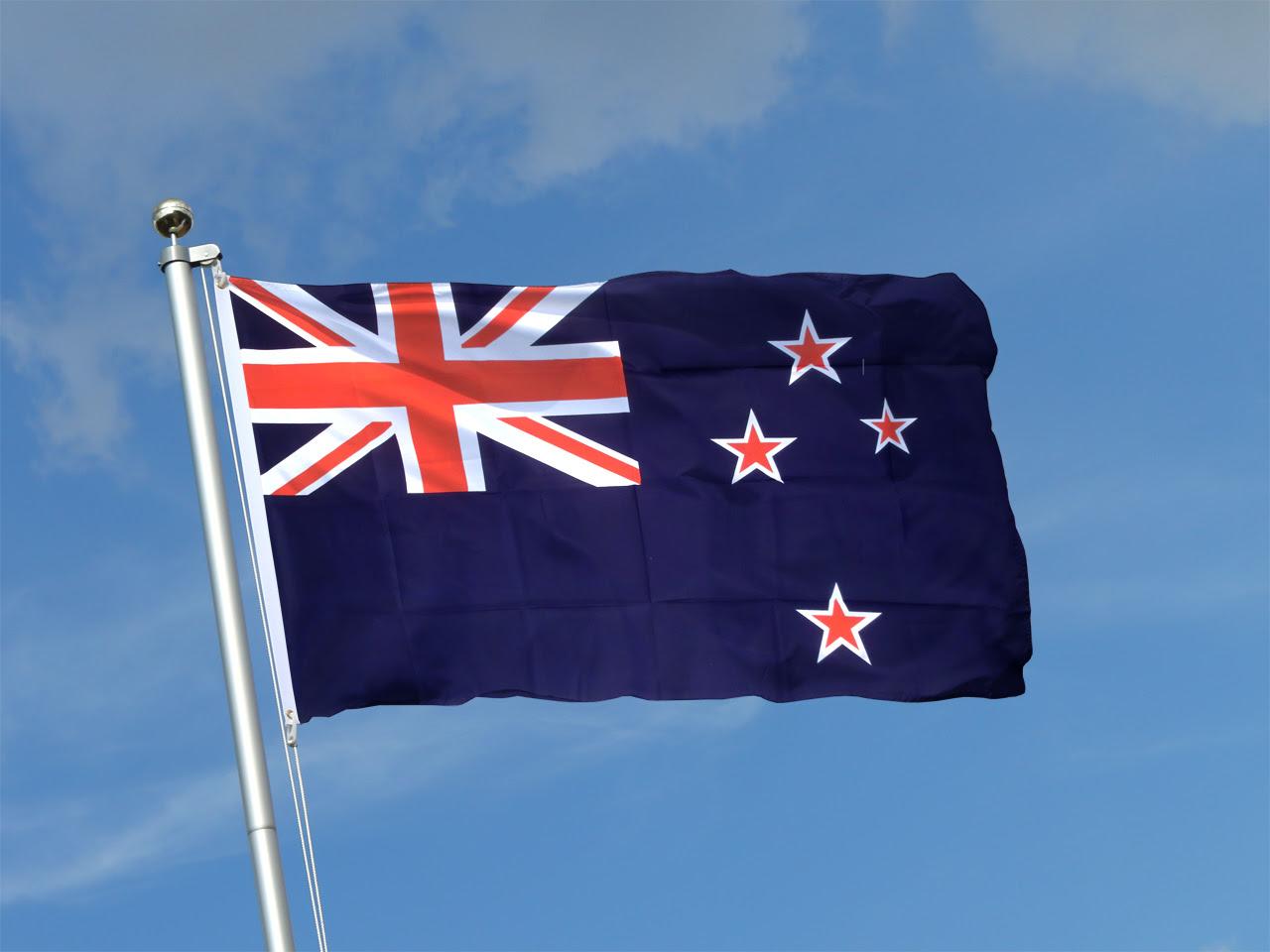 Neuseeland Flagge kaufen - 90 x 150 cm - FlaggenPlatz ...