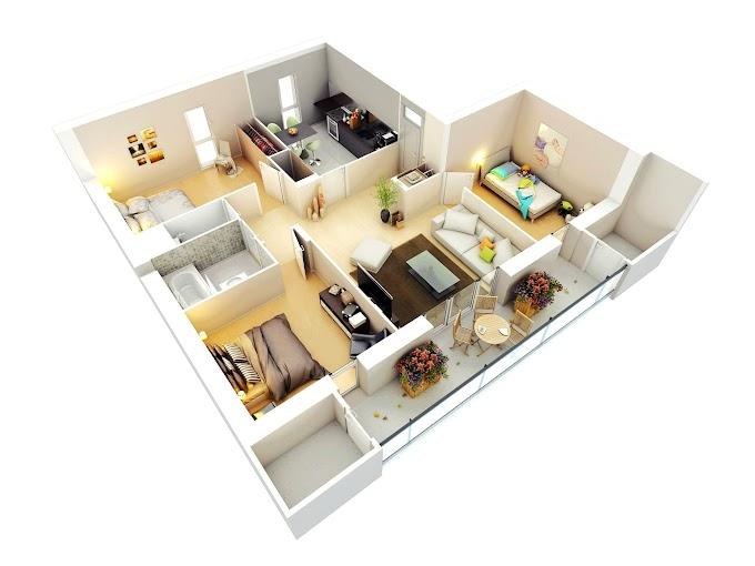 Gambaran Rumah Minimalis 3 Kamar   Ide Rumah Minimalis