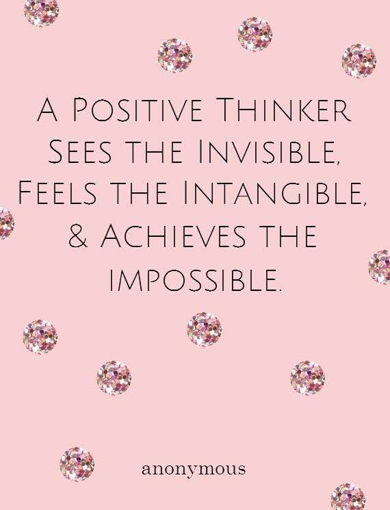 positive thinking #quote