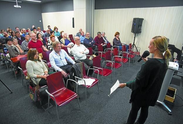 Imagen de una sesión aclaratoria de una edición anterior de los presupuestos participativos.