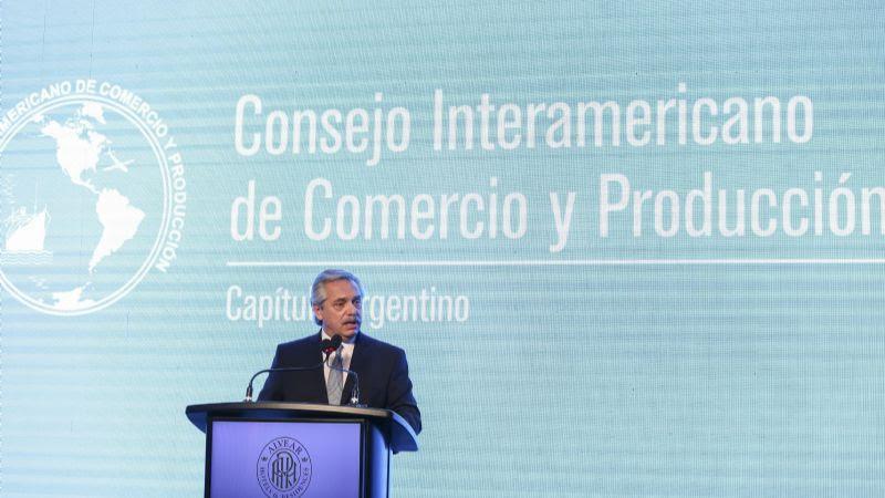 """Alberto Fernández: """"No es posible que los precios sigan subiendo"""""""