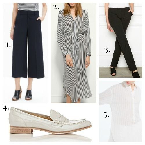 Madewell Pants - Massimo Dutti Dress - Aella Pants - Barneys New York Shoes - Zara Shirt