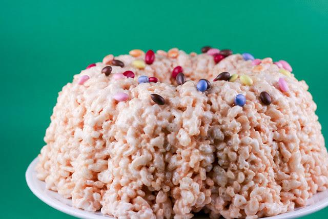 Rice Krispy Bundt - I Like Big Bundts 2011