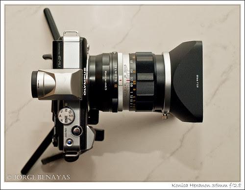 Konica Hexanon 35mm f/2.8