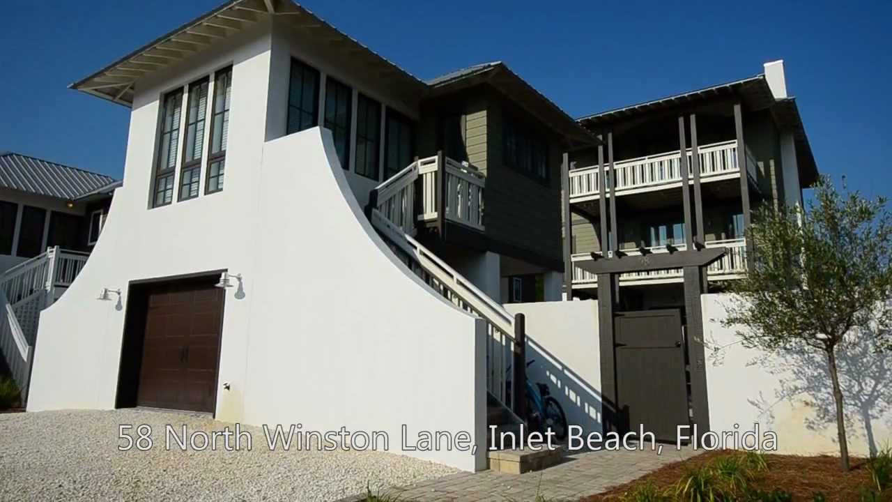 Inlet Beach Florida 4BR Vacation Rental Home, 58 North ...