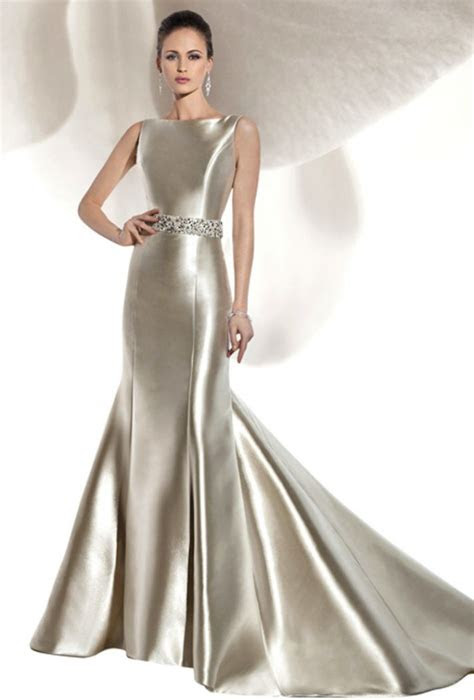 liquid satin dress