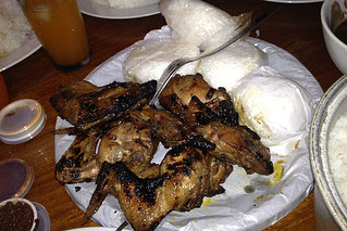 Eating in Manila - Bbq Chicken