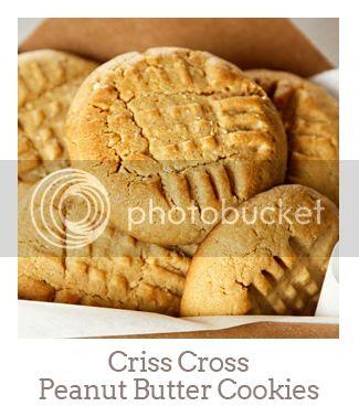 """""""Criss Cross Peanut Butter Cookies"""""""