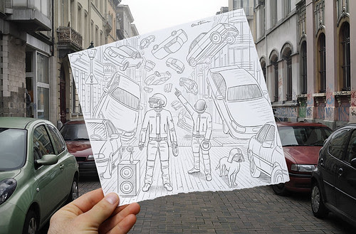 5431367427 b5f4afcc92 in Incredibly Creative Pencil Drawings vs Photography