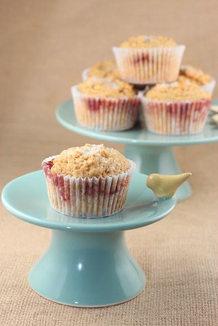 Peanut Butter & Jelly Muffins - Recipe Girl