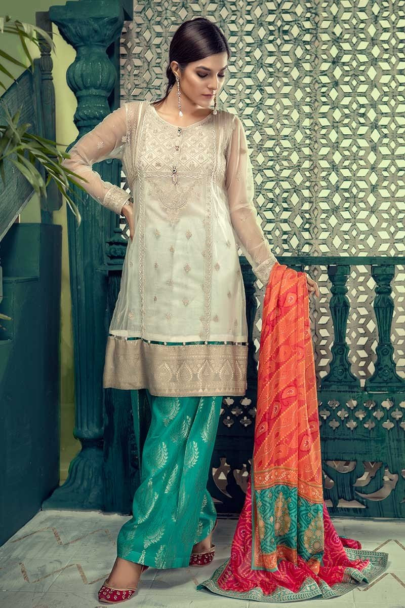 latest maria b eid lawn dresses designs collection 20182019