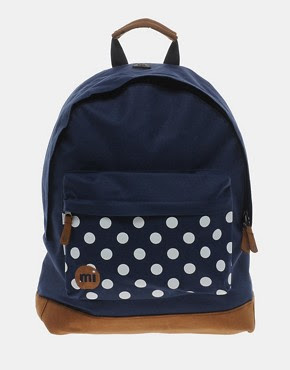 Asos Mi Pac Spot Print Backpack