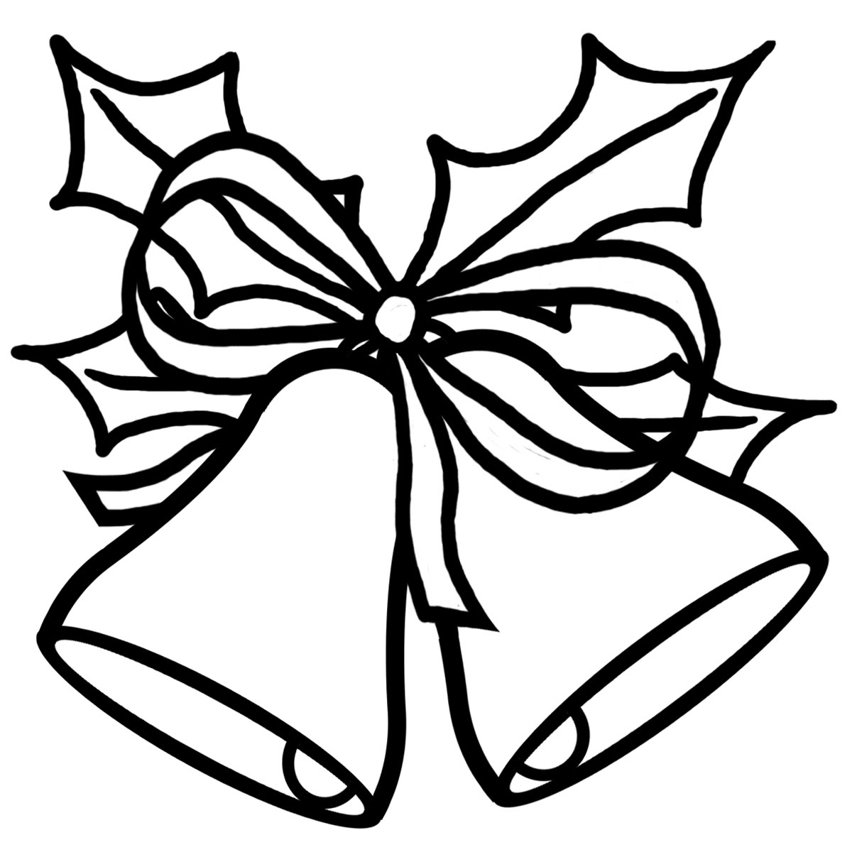 Free Christmas Clip Art Black And White Download Free Clip Art