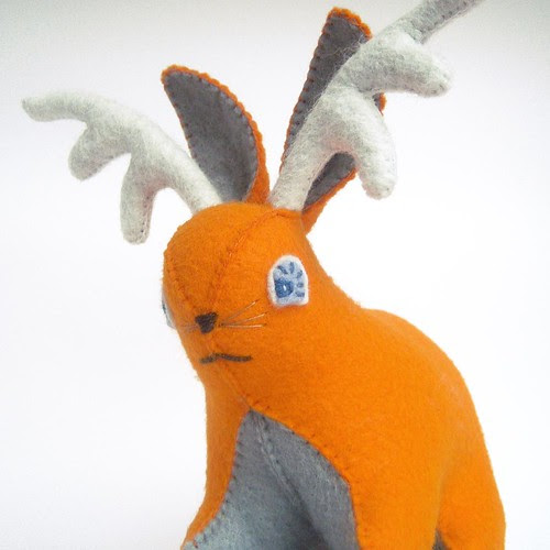 Betsy the Etsy Obsessed Jackalope Plush