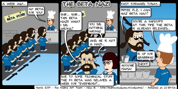 [fedora webcomic: beta nazi]