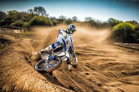 Wallpaper Husqvarna TC250, drift, motocross range unveiled, Cars & Bikes #10714