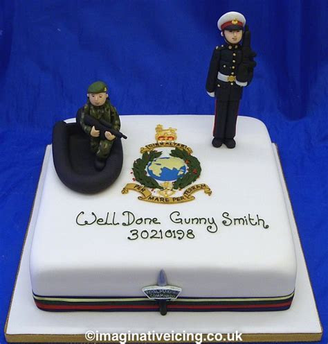 Royal Marines Commando Passing Out Cake   Imaginative