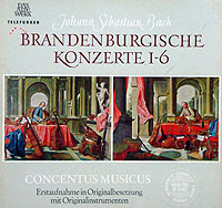 Nikolaus Harnoncourt and the Concentus Musicus Wein (Telefunken LP box)