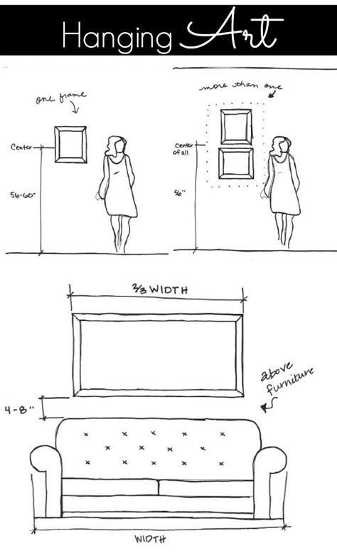 5 Measuring Tips for Decorating | Hanging art, Hanging