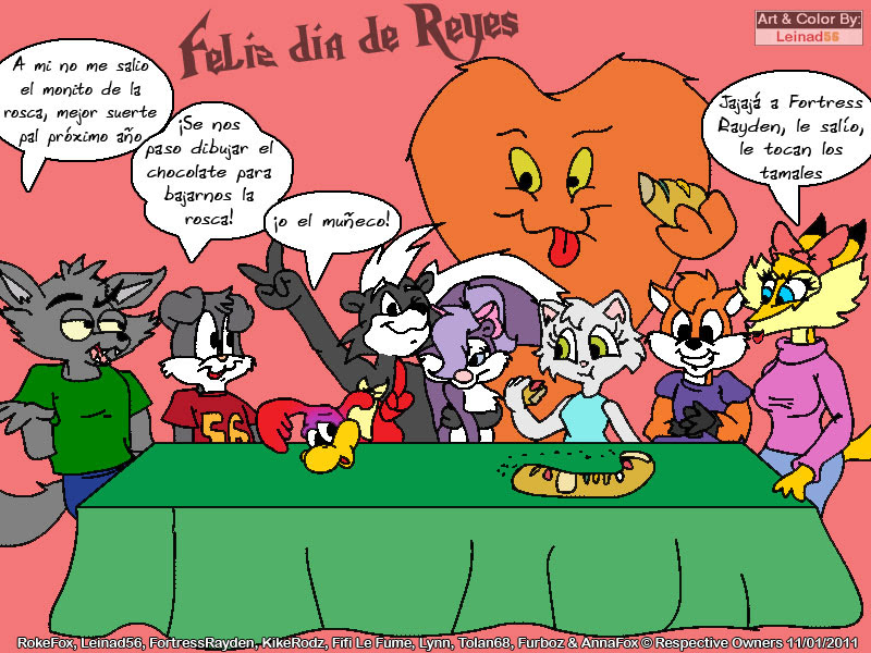 Feliz dia de Reyes by leinad56 on DeviantArt