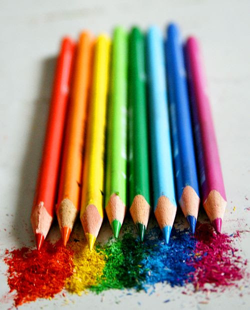 Give some color to your life, your world, and live your life