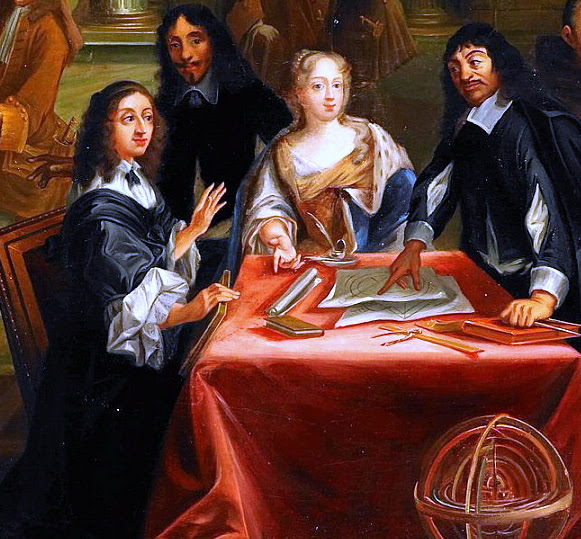 Archivo: René Descartes i samtal med Sveriges Drottning, Kristina.jpg