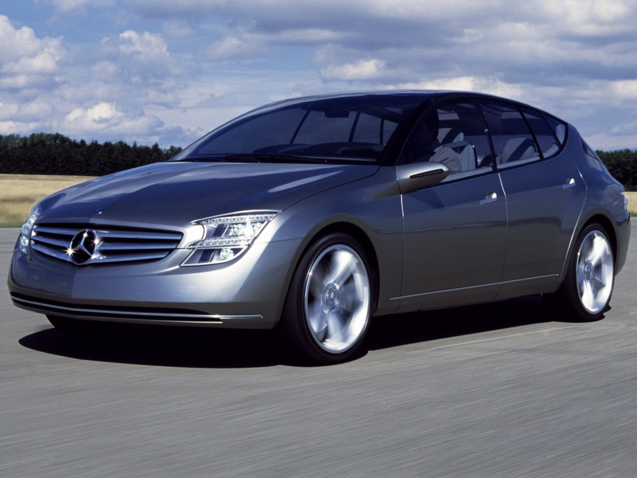 Mercedes-Benz F500 Mind Concept (2003) - Old Concept Cars