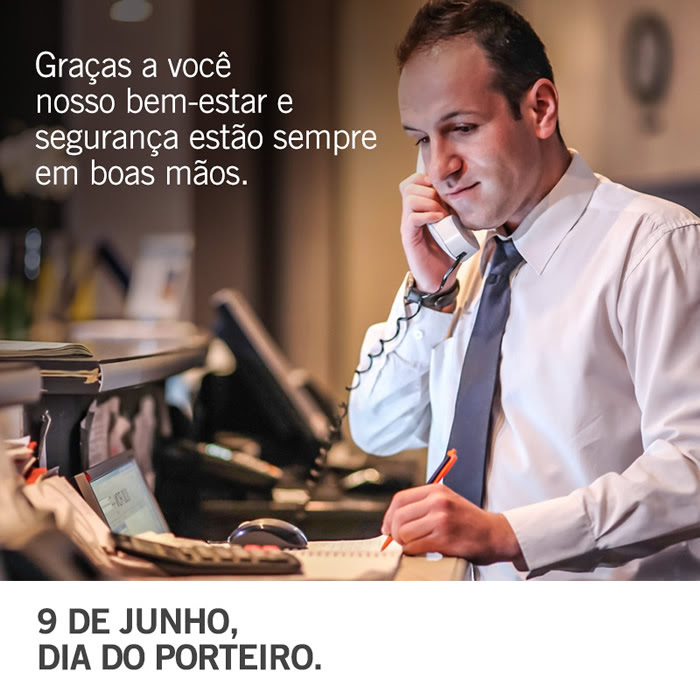 Dia do Porteiro Imagem 2