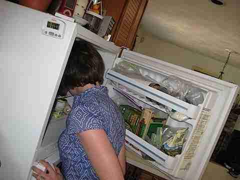 241543903: Με το κεφάλι στο ψυγείο!