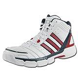 adidas (アディダス) バスケットボールシューズ adiZero Bash ユニセックス WHT/Uレッド/NNVY G22075-G22076-G06761-G22075 27.5cm
