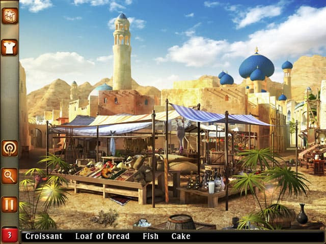 Aladin and the Enchanted Lamp Free PC Game Screenshot