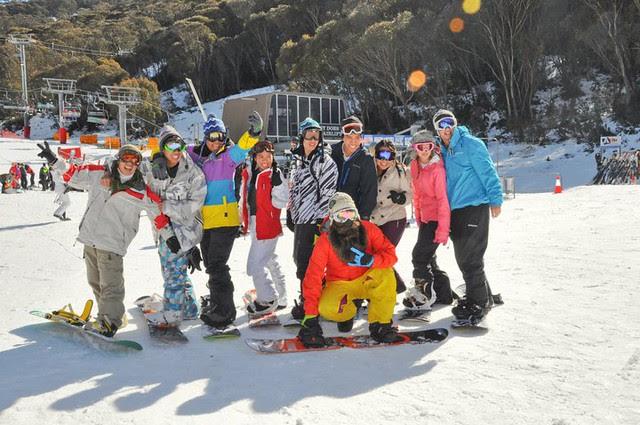 Snow trip to Thredbo 2011