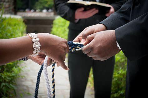 DIY wedding three strand cord ceremony.   wedding   Pinterest