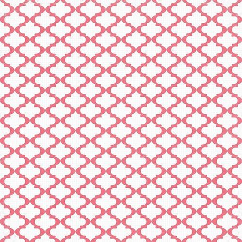 10 poinsettia Sketch Moroccan tile 12 and a half inch SQ 350dpi