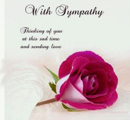 Thinking Of You At Sad Time Free Sympathy Condolences Ecards