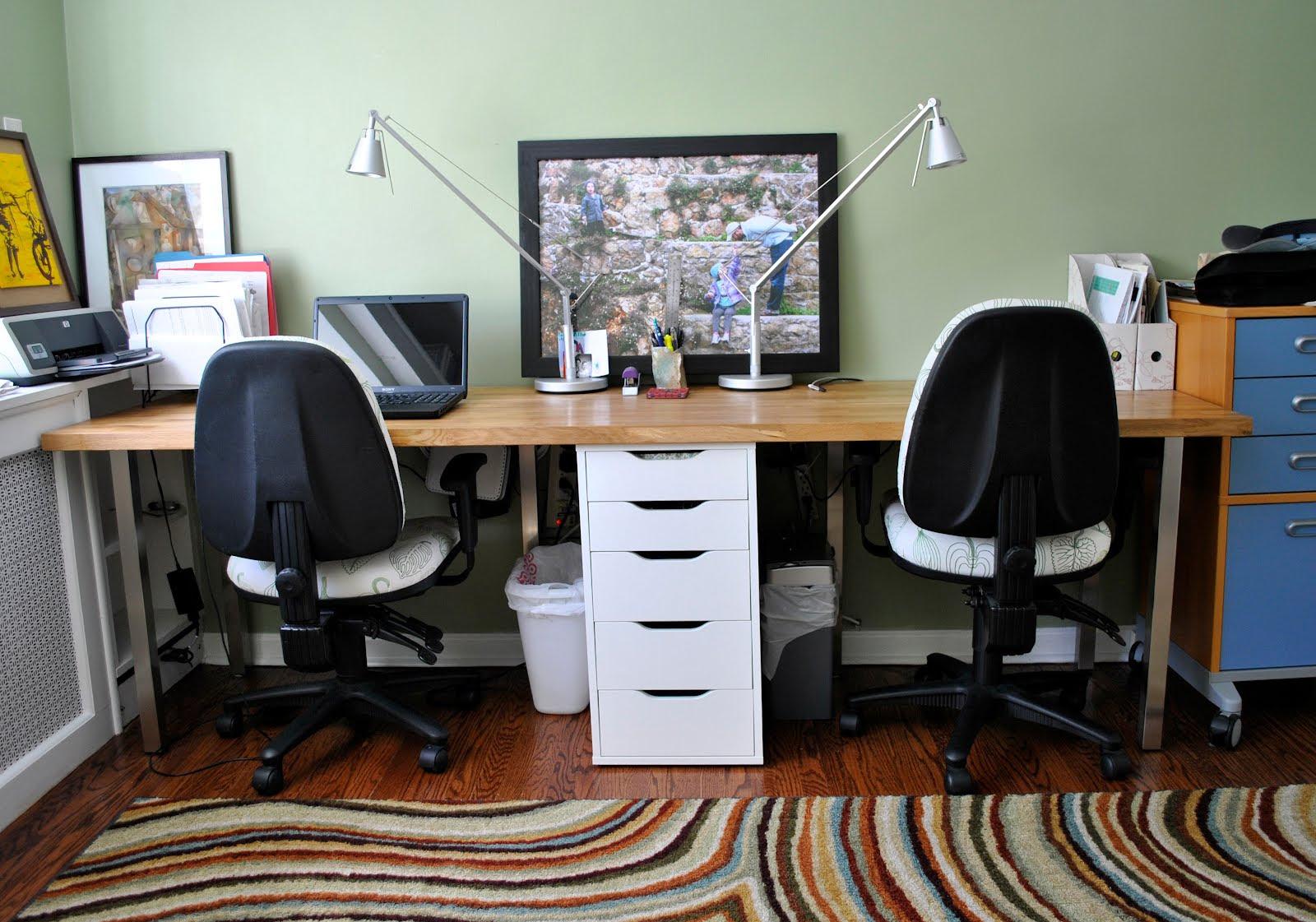 Rousing Partner Desk Home Office  Officehom