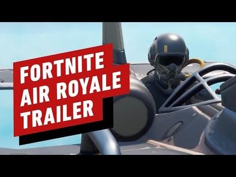 Fortnite Air Royale Trailer