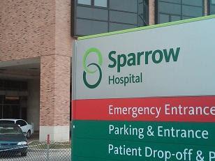 Image result for sparrow hospital lansing michigan