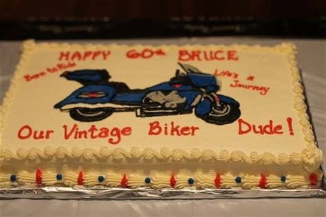 Victory Motorcycle for his birthday cake.   60th birthday