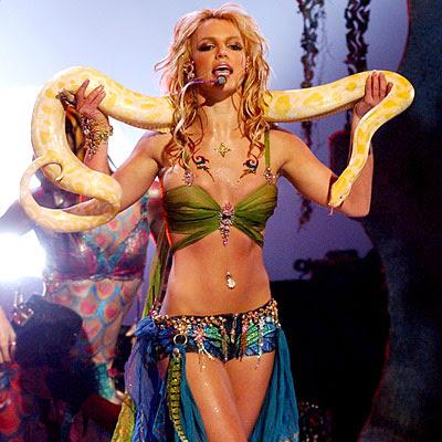 Britney's Snake Dance