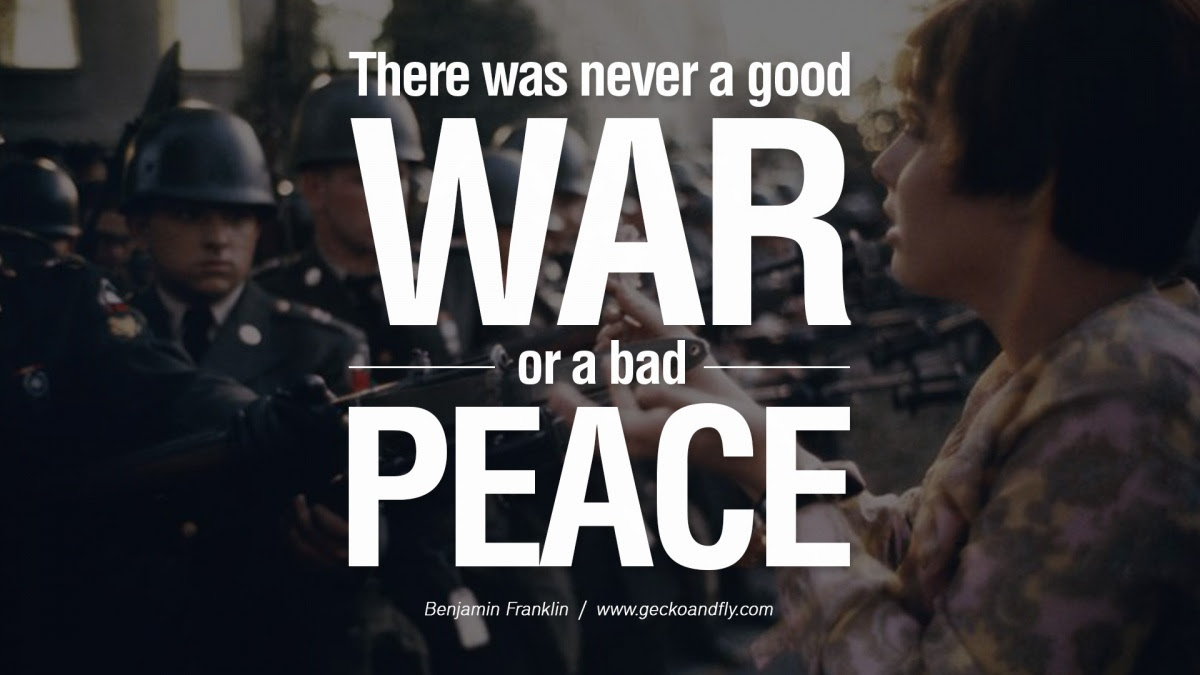 War And Peace Quotes Sayings War And Peace Picture Quotes