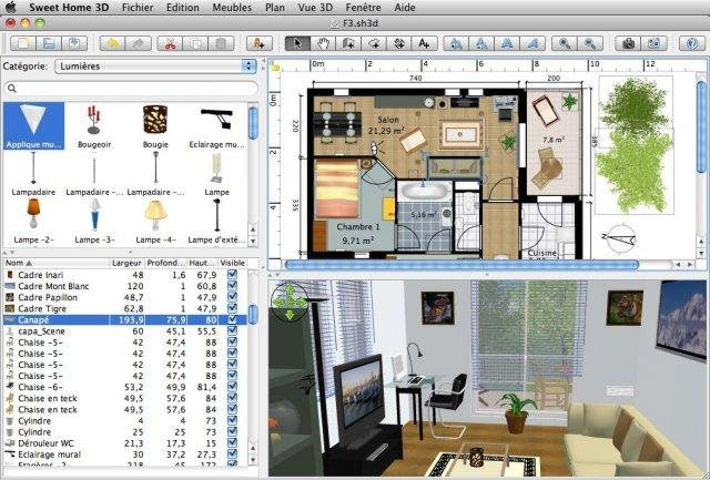 Sweet Home 3D | Free Graphics software downloads at SourceForge.
