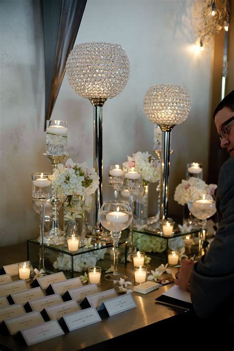 Place card table arrangements!   Wedding Receptions in