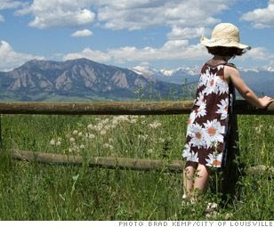This sunny, lively mountain town is safe (crime rates are among the lowest in Colorado) and easy to navigate.
