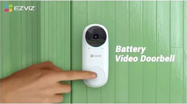 【母親節送禮之選】Ezviz 螢石 DB2C 智能鏡頭門鈴套裝 守護家門保安全