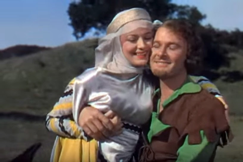 File:Olivia de Havilland and Errol Flynn in The Adventures of Robin Hood trailer.JPG