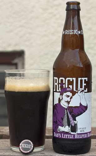 Review: Rogue Dad's Little Helper Black IPA by Cody La Bière