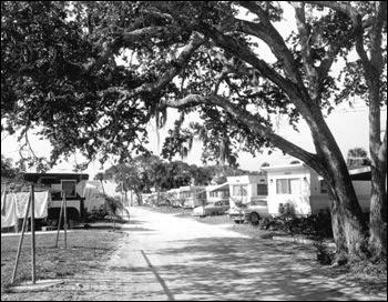 Trailer park: Cape Canaveral, Florida (1958)