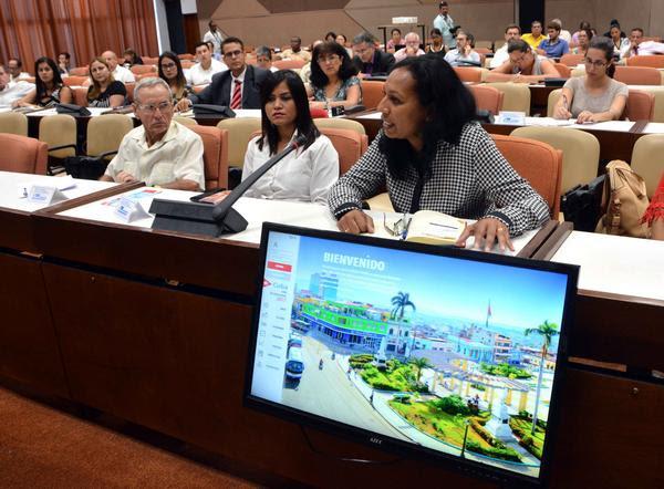 Presentación del Segundo Foro de Inversiones, en el Palacio de las Convenciones, en La Habana, el 22 de septiembre de 2017. ACN FOTO/Marcelino VÁZQUEZ HERNÁNDEZ